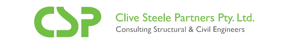 Clive Steele Partners, Consulting Structural and Civil Engineering, Logo