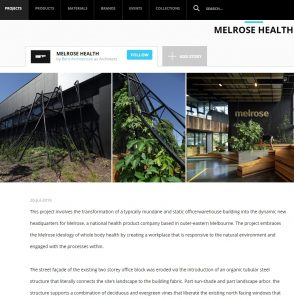Clive Steele Partners, Melrose Health Development, Structural and Civil Engineering